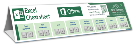 Excel advanced cheat sheet