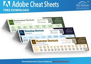 Our Best Adobe Cheat Sheets