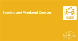 Evening and Weekend Courses at New Horizons Ireland