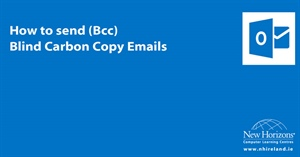 How to Bcc - Send an email without revealing other recipients