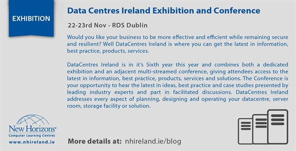 Data Centres Ireland Exhibition and Conference - 22-23rd Nov