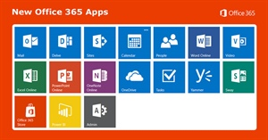 What are all those new Office 365 apps