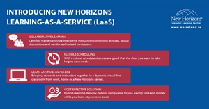 Learning at your own pace - New Horizons Learning as-a-Service solution