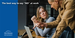"The best way to say ""NO"" at work"