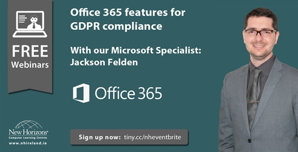 Webinar Recording - Understanding the Office 365 features for GDPR Compliance