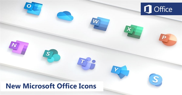 Microsoft Office Icons redesigned