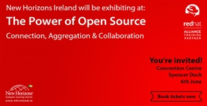 New Horizons exhibiting at the Red Hat Day Ireland