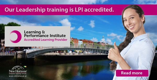 New Horizons Ireland is LPI Accredited