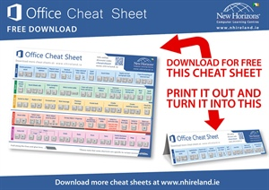 Microsoft Office Keyboard Shortcuts Cheat Sheet