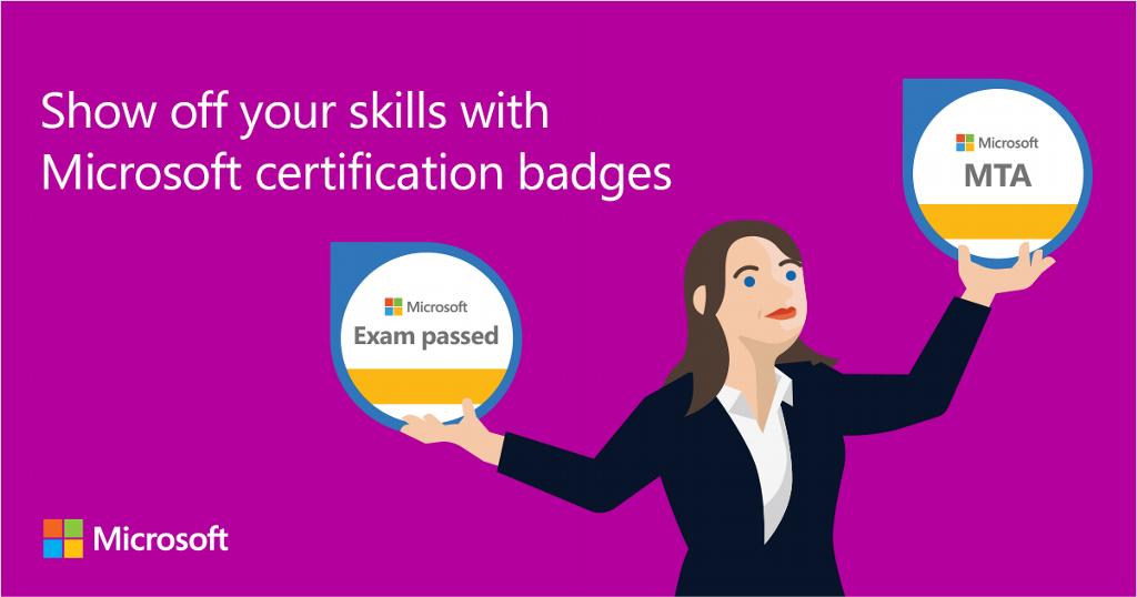 Show Your Skills With Microsoft Badges Ireland