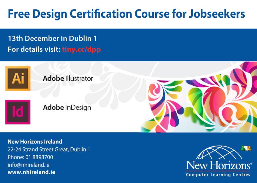Free For Unemployed Design Certification Course Ireland