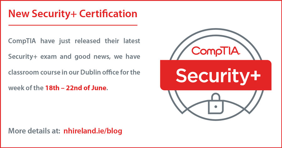 Comptia Security Certification New Horizons Ireland