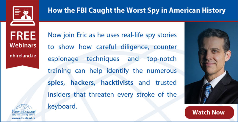 Free webinar - How the FBI Caught the Worst Spy in American History