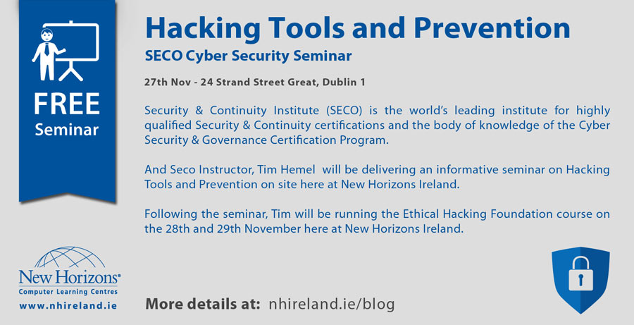 Hacking tools prevention free seminar