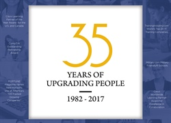 35 YEARS OF UPGRADING PEOPLE