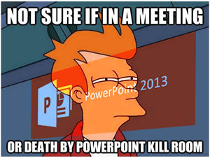 How to avoid 'Death by PowerPoint'
