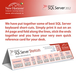 SQL Server Keyboard Shortcuts Cheat Sheet