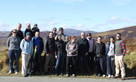 New Horizons Ireland staff outing